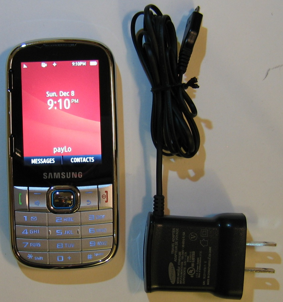 Virgin Mobile Samsung Montage SPH M390 Cell Phone Prepaid ...